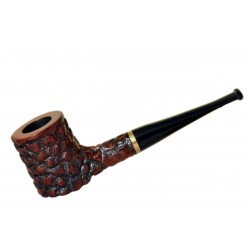POKER briar straight rustic red tobacco smoking pipe by Mr. Brog (Poland)