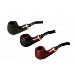 RUBEL no. 132 briar bent petite apple tobacco smoking pipe by Mr. Brog (Poland..