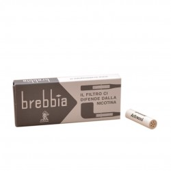 9mm charcoal filters (10 filters) by Brebbia